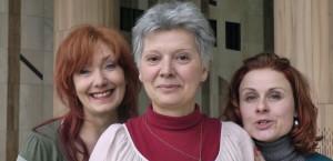 Szalai Kriszta színművész, Nagy Emília tanár, Holló Szilvia civil aktivista