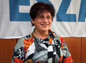 Ambrus Gyöngyi Kistokaj polgarmestere Fotó: Ádám János